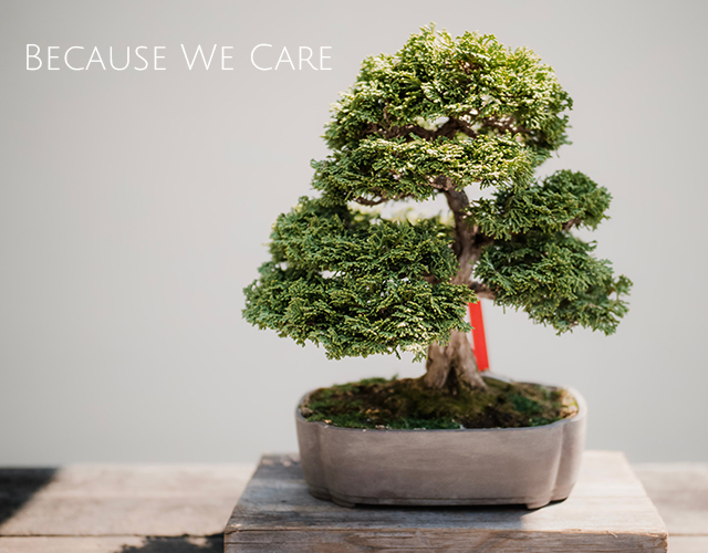 our mission - because we care
